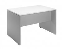 Mesa blanco/aluminio